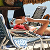 Texting at the beach is a little difficult...Casa del Mar, Aruba-2014