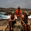 "IMG#1002<br /> <br /> Fallen Natural Bridge-Western end of Aruba<br /> ""Trio""...Amanda, Ben, Rachel"