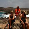 "IMG#1002<br /> <br /> Fallen Natural Bridge-Western end of Aruba<br /> ""Trio""...Amanda, Ben, Rachel"