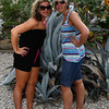 IMG#1029<br /> <br /> Huge Succulents(cactus, etc) thrive in the hot, humid climate of Aruba<br /> Rachel and Amanda are careful not to get too close as they are armed with sharp, pointed tips