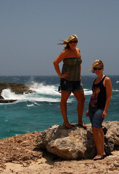 IMG#0992<br /> <br /> Western tip of Aruba's Coastline<br /> Rachel & Amanda