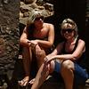 IM#1025<br /> <br /> Rock Fortress, western Aruba<br /> Rachel & Amanda