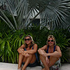 IMG#1050<br /> <br /> Huge Palm fronds are found at the Marriott in Aruba<br /> Rachel & Amanda