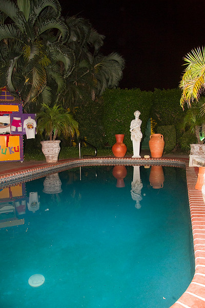 <center>IMH#1155  The Pool area in the GardenScape - Aruba Dinner Party Nite 2011<center>