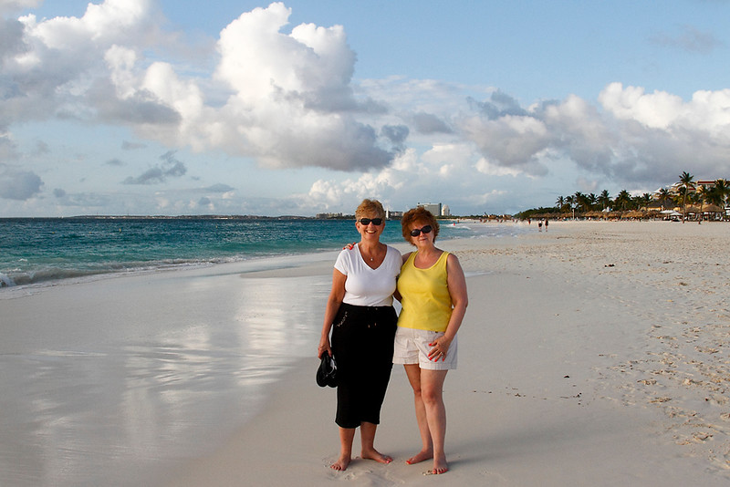 Forming a friendship in Aruba-2014