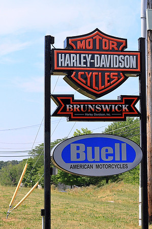 """IMG#4442 July 23, 2011 - DAY 1 We would eventually stop at """"EVERY"""" Harley Davidson dealership throughout our trip..."""