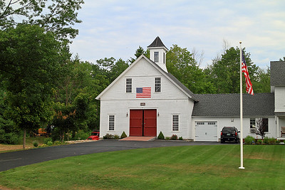 IMG#4592 July 24, 2011 - DAY 2 Super garage...not a schoolhouse. New Hampshire