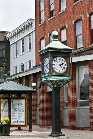 IMG#4475 July 23, 2011 Late afternoon on the Town Clock Bennington, Vermont...