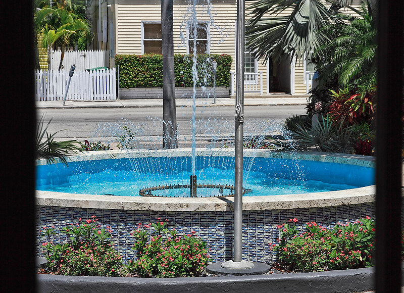 Southern Most Point Hotel Fountain-Key West, Fla 4/23/14