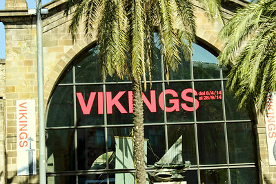 BARCELONA, SPAIN - CITY TOUR  7/21/14  Vikings Ship Manufacturer