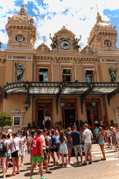 MONTE CARLO CASINO...CITY HIGHLIGHTS IN CANNES, FRANCE...NICE, MONTE CARLO, MONACO - 7/23/14
