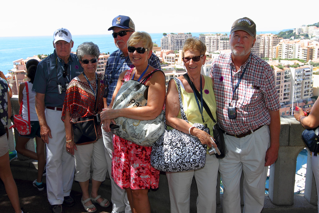HAPPY TOURISTS...CITY HIGHLIGHTS IN CANNES, FRANCE...NICE, MONTE CARLO, MONACO - 7/23/14