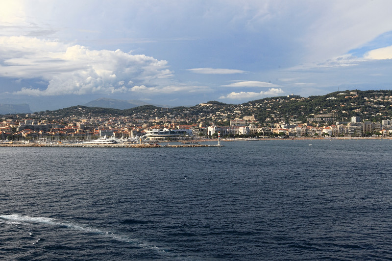 LEAVING  CANNES, FRANCE MARINA  RETURNING TO THE SHIP...7/23/14