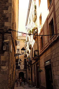 "BARCELONA, SPAIN-""CUITAT VELLA"" OLD CITY TOUR 7/21/14"