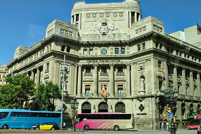 BARCELONA, SPAIN - CITY TOUR  7/21/14  Around the City