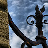 "<center>IMG#1235 Scrollwork of Iron Gate ""Cliff Walk"" Newport, Rhode Island.<center>"