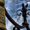 """<center>IMG#1235 Scrollwork of Iron Gate """"Cliff Walk"""" Newport, Rhode Island.<center>"""