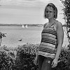 IMG#1285<br /> B & W at Castle Hill<br /> Amanda