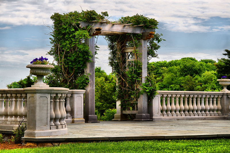 IMG#1307<br /> Castle Hill Wedding Pergola and Stage<br /> Newport, Rhode Island
