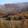 <center>IMG#5600 Early morning fog slowly  lifts from the mountains, Warren county, Pennsylvania<center>