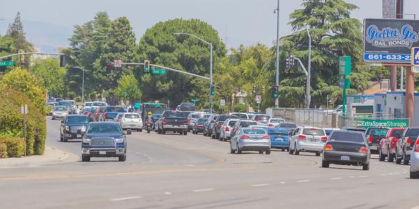 Truxtun Avenue Widening