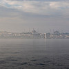 Istanbul seen from the ferry on the Bosphorus, Turkey