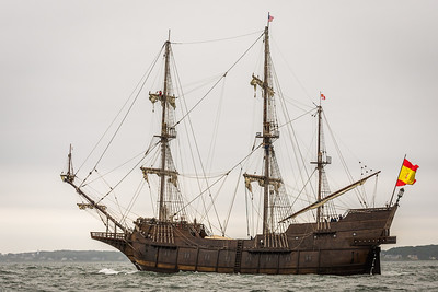 El Galeon Andalucia at Sea