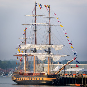 Oliver Hazard Perry at Dock