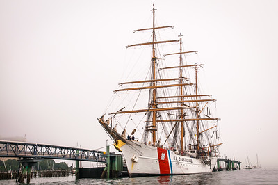 USCG Barque Eagle Ready to Depart