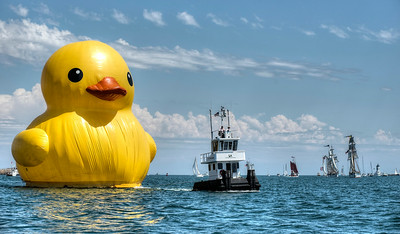 A Very Big Duck