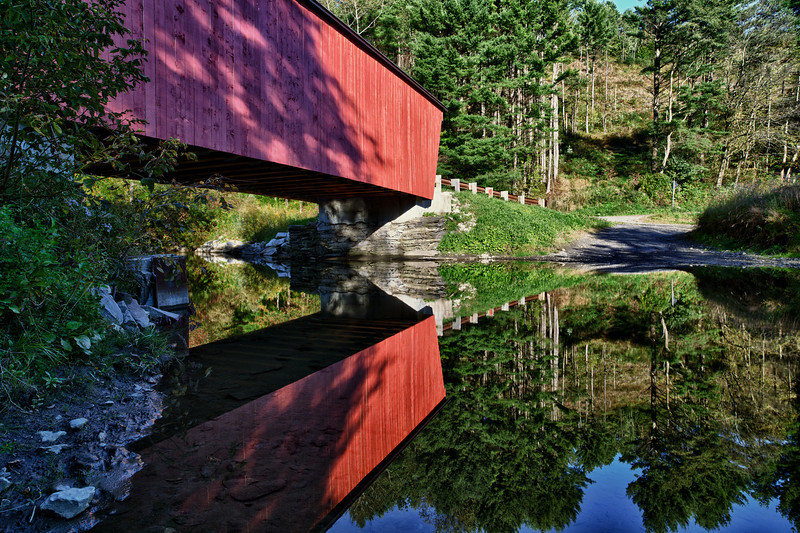Moxley reflection - Chelsea, VT