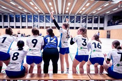KRECKEN_kristina im Handball Vorbereitungsspiel: Team Bayern - SV Muenchen Laim