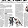 Houston Aeros images in Press & Sun Bulletin- Binghamton Senators Calder Cup Finals issue