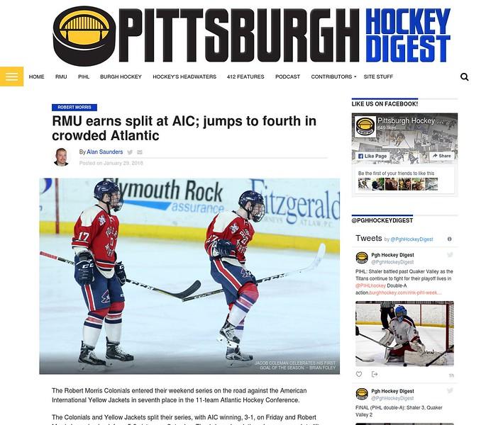 Pittsburgh Hockey Digest