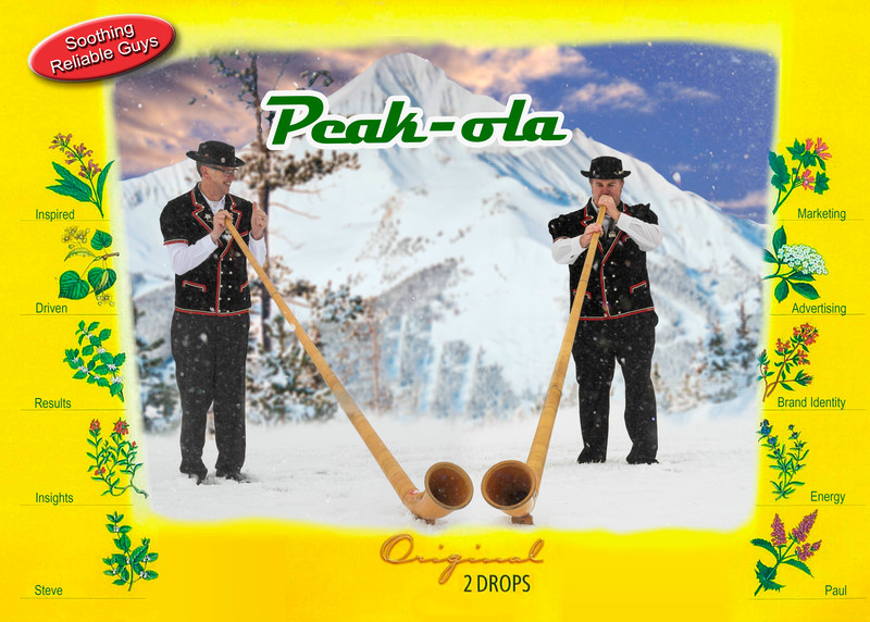Peak Christmas Card Peakola
