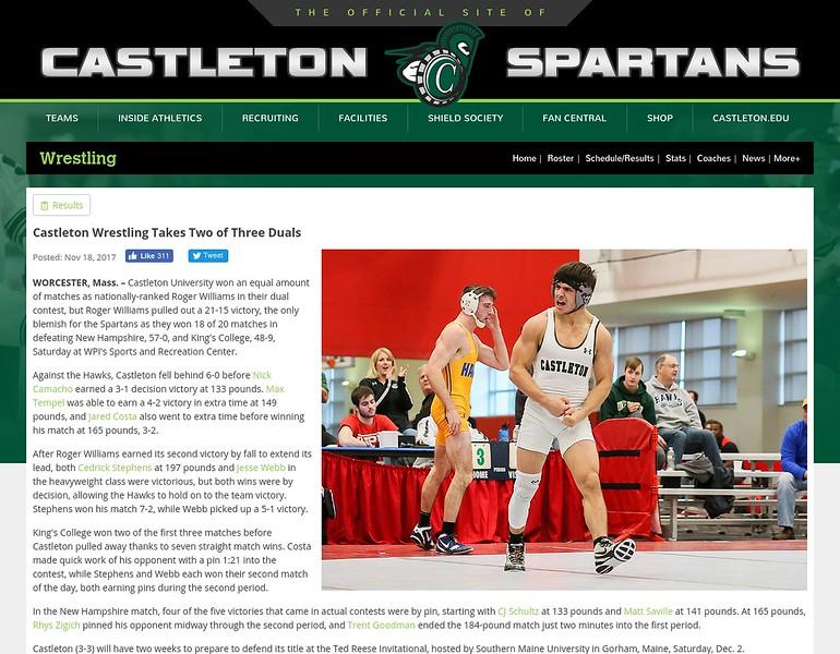 Castleton (VT) Athletics