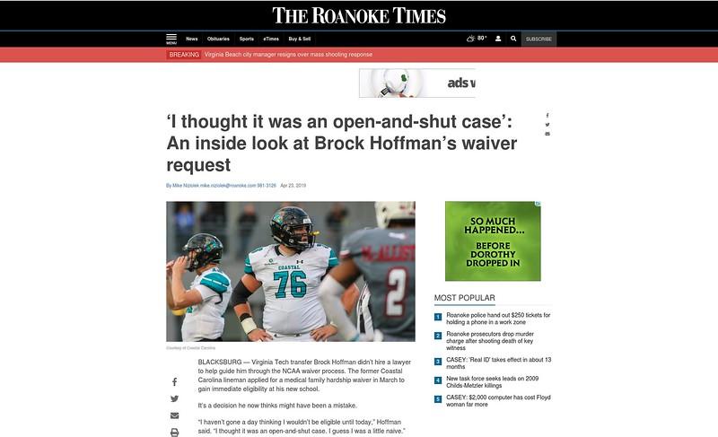 The Roanoke (VA) Times