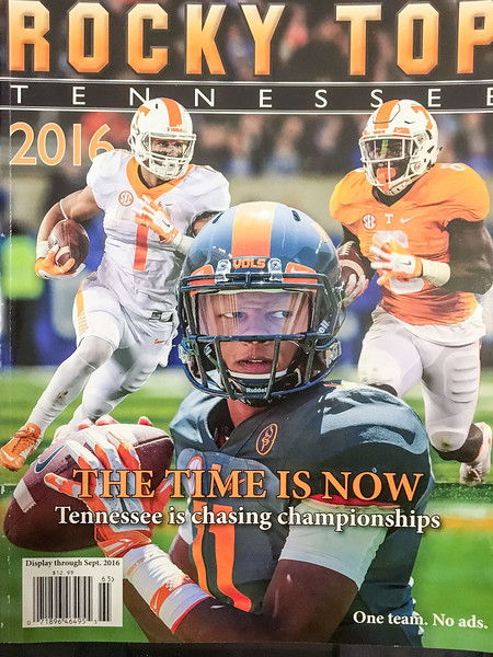 Cover of Rocky Top magazine 2016. All pics.
