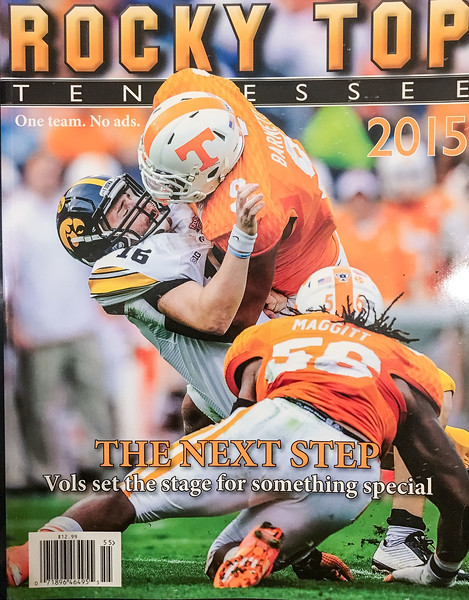 Cover of Rocky Top magazine 2015.