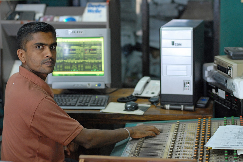 Kothmale Community Radio Centre in Sri Lanka