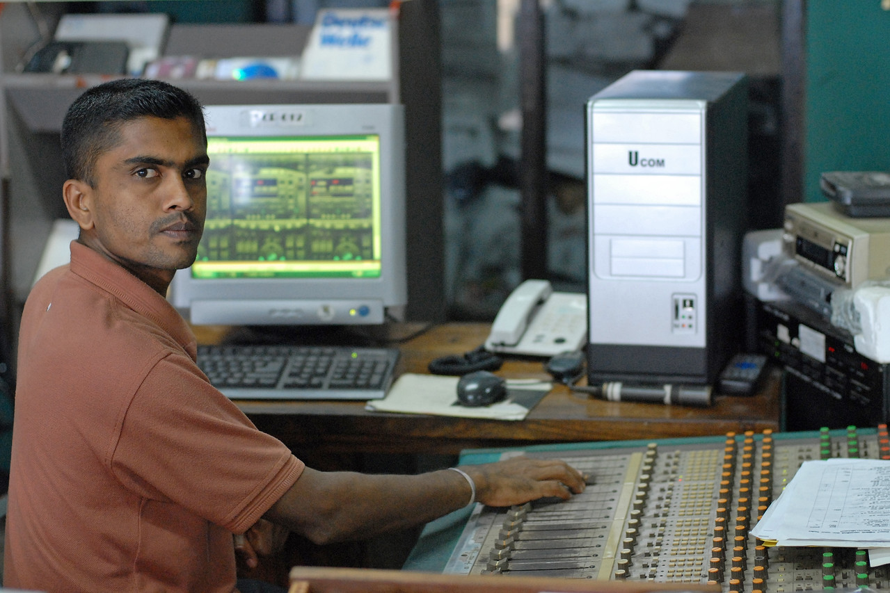 Kothmale Community Radio Centre in Sri Lanka