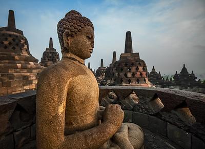 Borubudur Temple, Indonesia