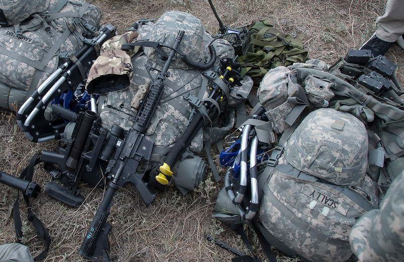 Modern mountain infantry equipment