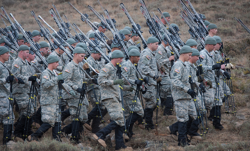 157th mountain infantry ski troops