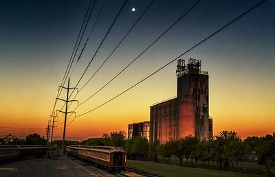 Rail Yard Dawn
