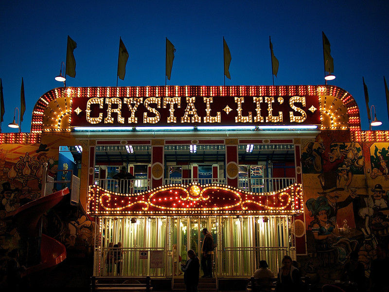 Crystal Lil's, Parking Lot Carnival - Round Rock, Texas