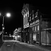 Nighttime Facade - Taylor, Texas