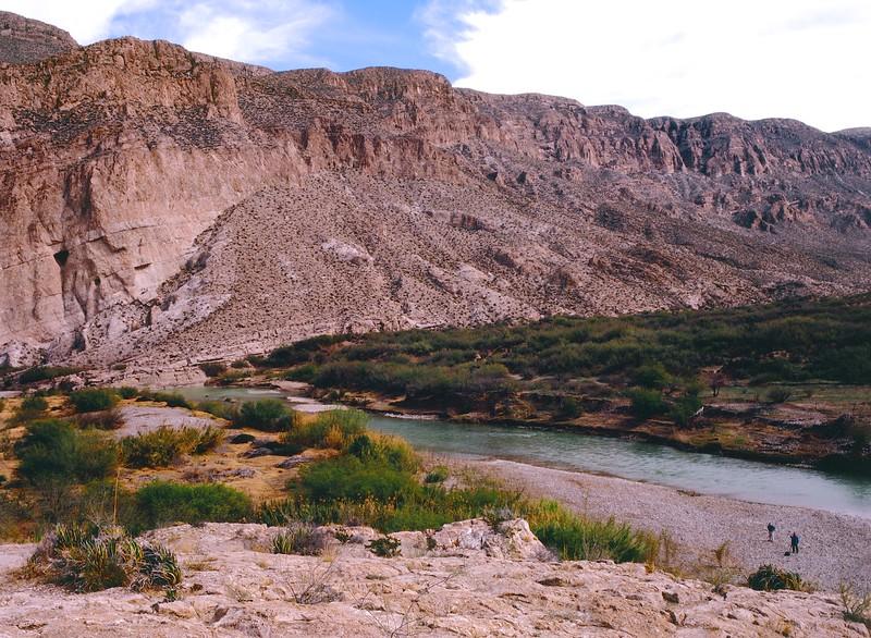 The Rio Grande at Boquillas Canyon - Big Bend National Park, Texas
