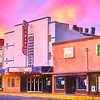 Sunset at the Howard Theater - Taylor, Texas