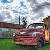 Rusted Truck - Smithville, Texas